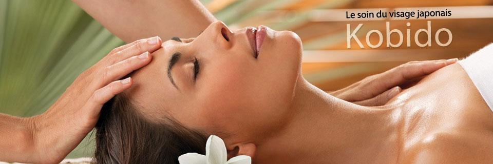 Massage du visage japonais Kobido