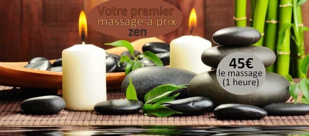 Offre découverte massage