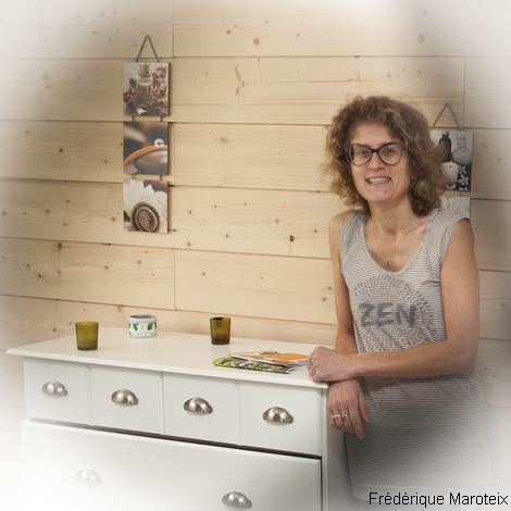 Frédérique Maroteix, masseuse bien-être sur Angers